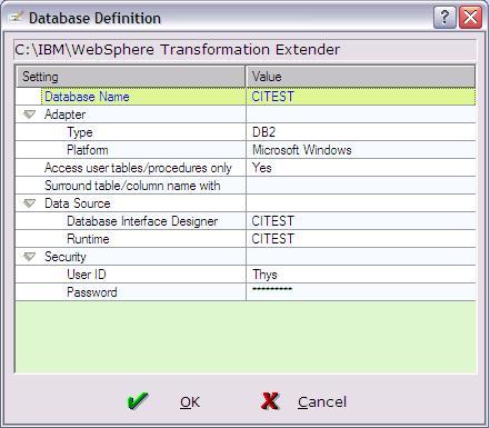 WebSphere Transformation Extender DB2 insert | Thys Michels Blog
